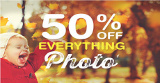NEW! Get 50% Off Everything Photo At Walgreens!