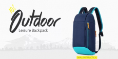 Water-Resistant Nylon 10L Leisure Backpack Just $4.99 Shipped!