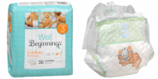 Well Beginnings Diapers only $4 at Walgreens!