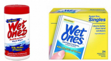 FREE Wet Ones Wipes At Target After Cartwheel, Coupon, and Ibotta Rebate Stack!