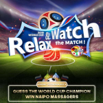 Win FREE Naipo Massagers for the World Cup 2018!