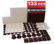 X-PROTECTOR Furniture Pads 133 Pieces $9.99 (REG $29.00)