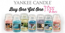 Yankee Candle: Buy One Get One FREE Jar Candles!
