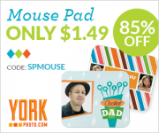 New From York Photo! Custom Mouse Pad Only $1.49!