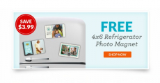 FREE 4X6 Refrigerator Photo Magnet from York Photo!