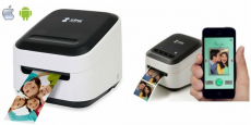 ZINK Phone Photo & Labels Wireless Printer!