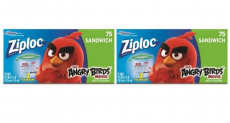 Wow! Get Limited Edition Angry Bird Ziploc Bags For Only $0.85!