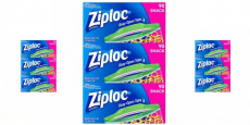 Ziploc Snack Bags 90 Count Boxes Just $2.19/Each!