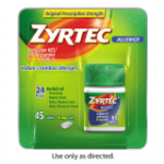 Hot Deals on Zyrtec, Benadryl, and Sudafed at Walgreens!