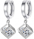 Women's Crystal Individual Colorful Stone Geometric Color Accessories Earrings$3.99 (REG $16.33)