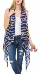 Back to School Special Designer Boho Sleeveless Tunic Vests Cardigans $14.99 (REG $36.99)
