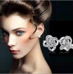 Fashion Jewelry Womens Ear Stud Cubic Zirconia Rhinestone Earrings $1.19 (REG $20.00)