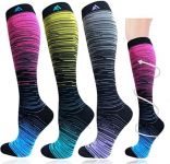 1/3/7 Pairs Compression Socks for Women&Men (20-30mmHg) $15.69 (REG $39.99)