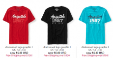 $5.00 Tees at Aeropostale + Clearance Up to 70% Off!