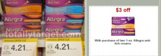 Allegra Anti-Itch Cream Only $.96 at Target!