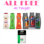 6 FREE Bottles of Body Wash + FREE Floss at Target! LAST DAY