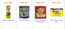 NEW Amazon Coupons- Planters, Gerber, Seventh Generation, and More!