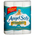 Angel Soft 12 pk Bath Tissue (Double Rolls) only $3.80 at Target!