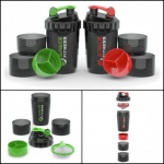 Apace Fitness Shakers (2) – Protein & Supplement Cup Base Only $16 (Reg. $40)
