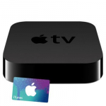 Apple TV + Free $15 iTunes Gift Card Only $67.99 Shipped!