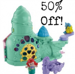 Fisher-Price Disney Ariel and Flounder Playset only $14.88!