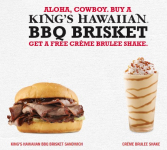 Arby's: FREE Creme Brulee Shake with Purchase!