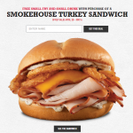 Arby's Coupon: Free Small Fry & Small Drink with Smokehouse Turkey Sandwich Purchase