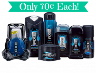 Axe Products as Low as 70¢ at Target! Today Only