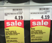 Axe & Dove Hair Products only $0.21 at Meijer!