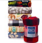 The Big One Supersoft Plush Throw on sale for $7.19!