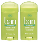 Ban Deodorant only $1.18 at Target!