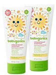 HOT! $7.35 Babyganics Sunscreen 2 Pack + FREE Shipping!
