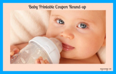 Baby & Toddler Printable Coupon Round-up