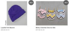 Bebe Bella Designs Baby Sale, Products as low as $3.60!
