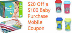 *HOT* $20 Off a $100 Baby Purchase Coupon at Target!