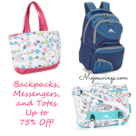 High Sierra & iSafe Backpacks, Totes, and Messenger Bags Up to 75% off! From $14.99!