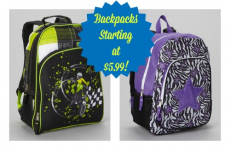 Backpacks Up to 60% off-Prices Starting at $5.99!