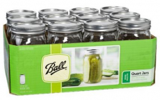Ball Mason Jars with Lids Just 81¢ Each!
