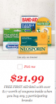 FREE First Aid Kit at CVS with $17 in Coupons with Purchase!