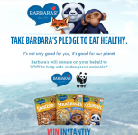 Barbara's Pledge Instant Win Game! 750 Will Win Tote Bags, Plush Toys, and More + $1 Coupon!