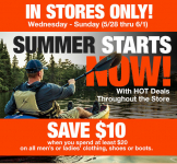 Bass Pro Shops: $10 Off a $20 Purchase Coupon!