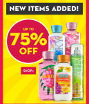 HOT! Bath & Body Works – Huge Clearance Event 75%-, Body Creams,Body Care, and Hand Soaps Only $2.71 and More!