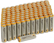 AmazonBasics AA Performance Alkaline Batteries 100-Pack Only $14.39 Shipped!
