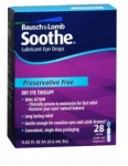 Bausch & Lomb Soothe Hydration Free + Moneymaker at Rite Aid!