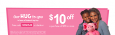 Build-A-Bear: $10 Off $30 Purchase Coupon