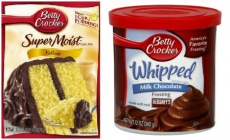 Betty Crocker Cake Mixes and Frosting As Low As 63¢ Each at Target!