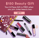 Wow! Get A Free $150 Beauty Box From Julep!