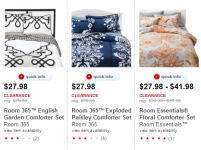 Bedding Sets Up to 65% off from Target!