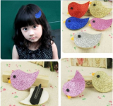 Set of 5 Glittery Bird Hair Clips Only $2.59 + FREE Shipping!