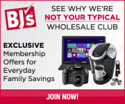 FREE 60-Day Trial Membership to BJ's Wholesale Club!
